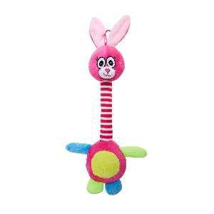 Brinquedo de Pelúcia Coelho Canadense - Home Pet - 25x5x16cm