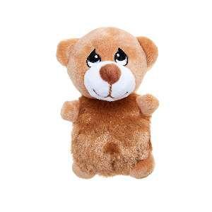 Brinquedo de Pelúcia Cachorro Marrom - Home Pet - 10x6x12cm
