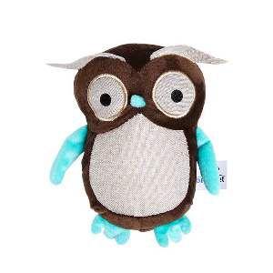 Brinquedo de Pelúcia Coruja - Home Pet - 15x6x15cm