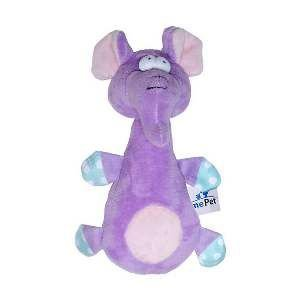 Brinquedo de Pelúcia Elefante Roxo - Home Pet - 15x5x18cm