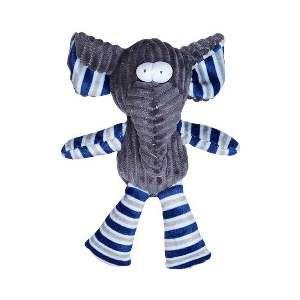 Brinquedo de Pelúcia Elefante Listrado - Home Pet - 18 cm