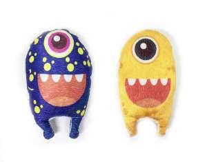 Brinquedo de Pelúcia Monstrinho Plush Sorriso - Donpetit - 17 cm
