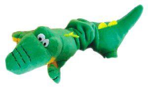 Brinquedo de Pelúcia Crocodilo - Chalesco - 37x15x8cm