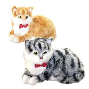 Brinquedo de Pelúcia Gatinho Pet - Chalesco - 25cm