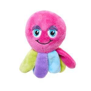 Brinquedo de Pelúcia Polvo Colorido - Home Pet - 9x6x14cm