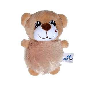 Brinquedo de Pelúcia Urso Marrom - Home Pet - 9x7x15cm