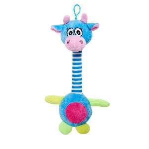 Brinquedo de Pelúcia Vaca Peruana - Home Pet - 16x6x42cm