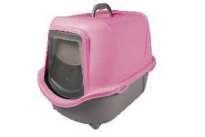 Sanitário WC Cat New - Plast Pet - Rosa