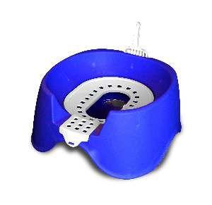 Sanitario higienico plastico koko cat azul - MEC PET - 45x38x33cm