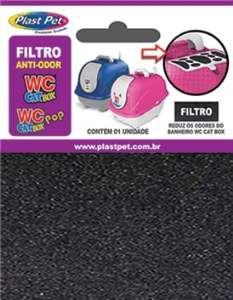 FILTRO REFIL DO SANITARIO WC CAT NEW 295