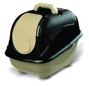 Sanitário WC Cat Box Pop - Plast Pet - Preto
