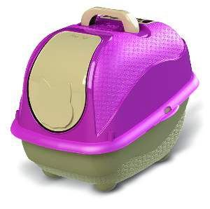 Sanitário WC Cat Box Pop - Plast Pet - Rosa