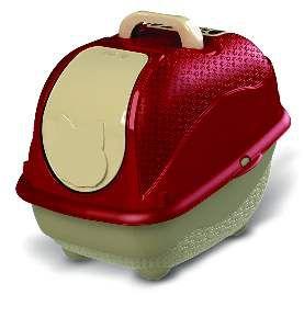 Sanitário WC Cat Box Pop - Plast Pet - Vermelho