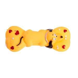 Brinquedo de Vinil Halteres Cachorrinho Sortido - Home Pet - 15 cm