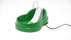 Fonte plastica automatica pets verde 220V - Alvorada - 28x20x16cm
