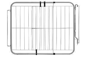 Portão de Segurança Aramado com Extensor - Poly-Fran - (70 cm x 115 cm)