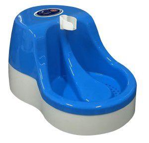 Fonte plastica automatica para gatos 2,5L - Azul - 110V - Furacao Pet - 39,2x26,5x20cm