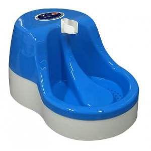 Fonte plastica automatica para gatos 2,5L - Azul - Bivolt - Furacao Pet - 39,2x26,5x20cm