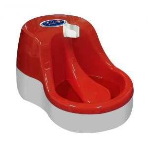 Fonte plastica automatica para gatos 2,5L - Vermelho - Bivolt - Furacao Pet - 39,2x26,5x20cm