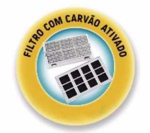 Filtro com carvao ativado para fonte com 3 unidades - Plast Pet - 12x6cm