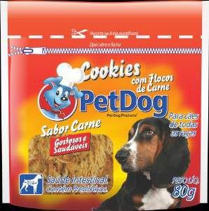 Cookies carne 80g - Pet Dog