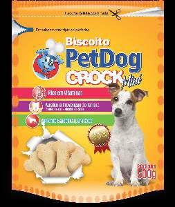 Biscoito crock mini 500g - Pet Dog