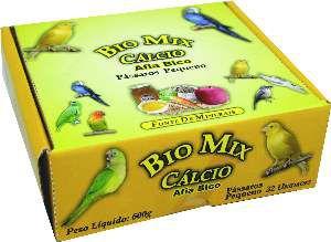 Siba Cálcio e Mineral para Pássaros Pequeno - Bio Mix - c/ 32 un