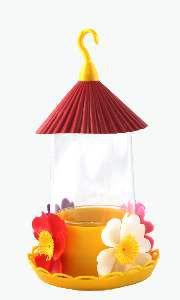Bebedouro para Beija-Flor com Chapéu - Mr Pet - 250 ml