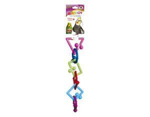 Brinquedo plastico Bird Toy Grande - Furacão Pet - 30x8x8cm