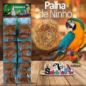 PALHA PARA NINHO C/16