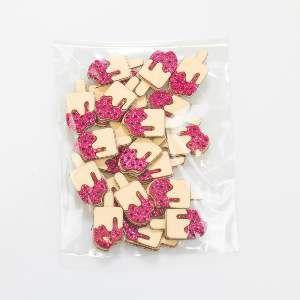 Adesivos aplicaveis sorvete - Fernandes Laços - 20 unidades - 13x9x2cm