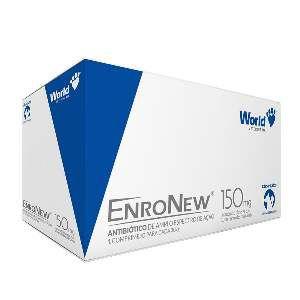 Antibiótico EnroNew - World Veterinária - 50 mg - c/ 15 un