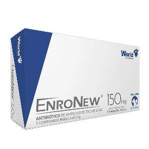 Antibiótico EnroNew - World Veterinária - 150 mg