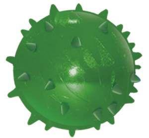 Brinquedo Bola Maciça Flexível Mamona - Furacão Pet - 60 mm