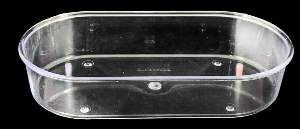 Banheira plastica para viveiro 680ml - Humberald - 11,5x5,7x4cm