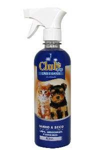 Banho a seco para caes 500ml - Club Pet Dog Clean