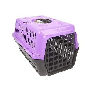 Caixa transporte plastica lilas N2 - Club Pet Alvorada - 48x32x28cm