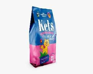 Areia sanitaria kets perfumada premium 12kg - Alfa Pet - 9x31x45cm