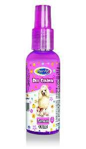 Deo Colônia Plast Pet Care Fêmeas - Pet Licenciados - 110 ml