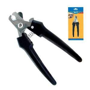 Cortador de unhas metal com cabo de plastico - Chalesco - 16x5,5cm