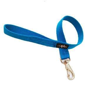 Guia nylon simples - Azul - Club Pet Viva - 30x500mm