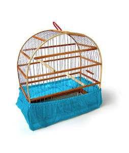 Capa TNT para gaiolas 1 - Club Pet D Zoo - com 12 unidades - 40x19cm