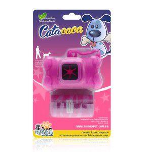 Cata caca plastico kit rosa - Savana - 11,5x6cm