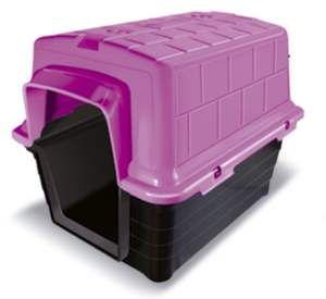 Casa plastico N1 - Rosa - Furacao Pet - 48x38x36cm