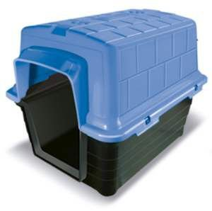 Casa plastico N1 - Azul - Furacao Pet - 48x38x36cm
