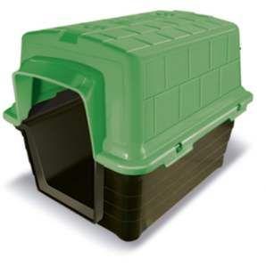 Casa plastico N1 - Verde - Furacao Pet - 48x38x36cm