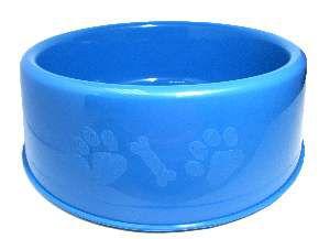Comedouro plastico pata/osso G 2500ml - Club Still Pet - com 6 unidades - 27,5x8,2cm