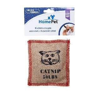 Brinquedo Almofada com Catnip - Home Pet - 10 cm