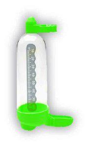Bebedouro para pássaros médio - Plast Pet - com 36 unidades - 7x4x14,3cm