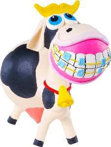 Brinquedo de Látex Vaquita - Latoy - 14 cm